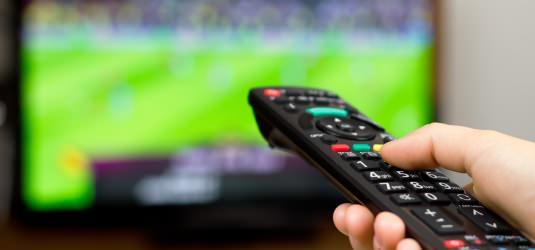 Em Fernsehübertragung