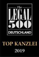 2019_The Legal_500_top_kanzlei