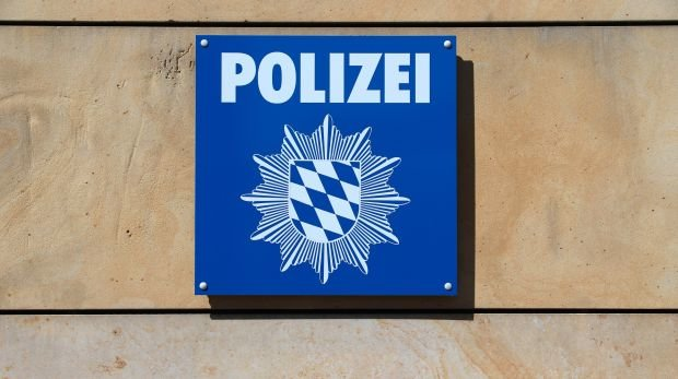 Polizeiwache in Bayern