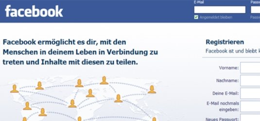 Facebook registrieren anmelden