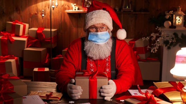 Willkommen Beim Internet Fernsehkanal Des Weihnachtsmannes