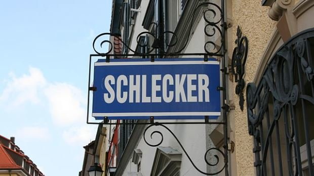 Schlecker Schild in Stockach, 2010