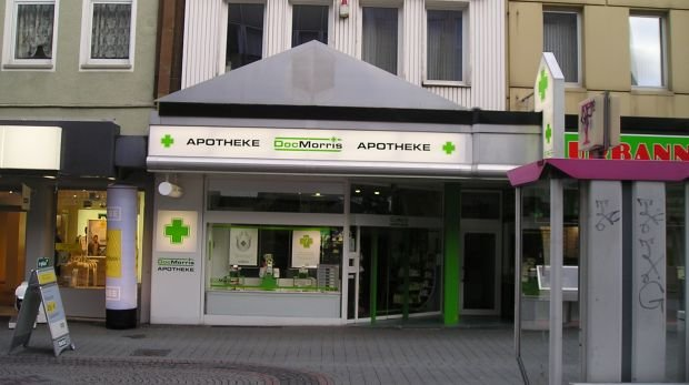 """DocMorris"" Franchiseapotheke in Bottrop"