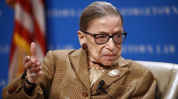 Oberster Gerichtshof der USA: Sorge um Gesundheit von US-Verfassungsrichterin Ginsburg