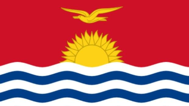 Nationalflagge von Kiribati