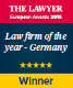 2016_the lawyer - lawfirm of the year