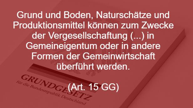Artikel 15 Grundgesetz