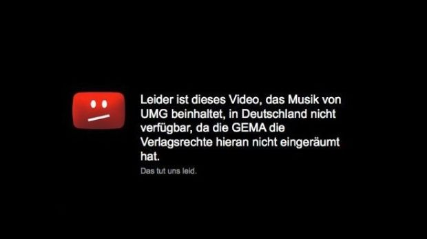 Youtube-Sperrtafel