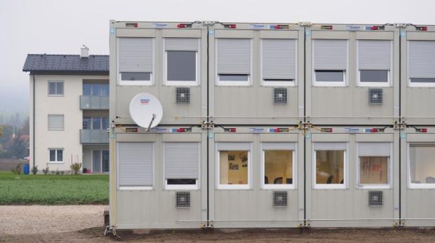 Wohncontainer für Flüchtlinge